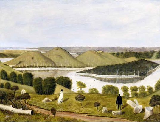 Daniel Clark's Tower Hill, 1867. Source: Cowen Gallery, State Library of Victoria. http://gallery.slv.vic.gov.au/image.php?id=939