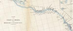 Chart of Brazil Coast including Bay of Maranham http://www.loc.gov/resource/g5402c.ct001509/