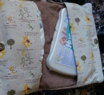Baby's Nappy Clutch - by Ann Hegarty