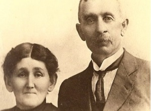 Charles F. and Mary Ann Williams, parents of John J.H, private #115. picture source: Williams Family Archives