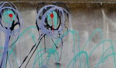 Laneway art in Warrnambool's CBD. picture by Jenny Fawcett