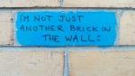 Wall Protest in Warrnambool's CBD. image by J. Fawcett