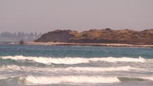 Mill's Point 3 miles from Port Fairy is another eastern face of Killarney's coast subject to harsh erosion. picture by Jenny Fawcett 28 Aug.2014
