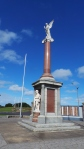 Warrnambool's iconic angel tops our historic war memorial. picture by Jenny Fawcett