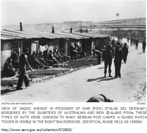 Anzac Avenue, Stalag 383, Germany
