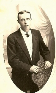 James Booley (1887 - 1915). photo courtesy of David Williams from the family collection of Leigh Williams of Ballarat.
