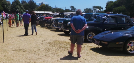 Crowd at Classic Cars Event Warrnambool