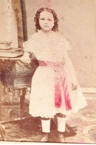Lizzie's niece Mabel Mills (1866-1952) is one of A.D and 'Maggie' Mills children namedin Lizzie's photos. picture courtesy of Corlette family 2015