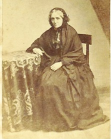 Lizzie's mother Mary Ann Journeaux nee O'Connor of Cork is one of the few family members identified in the album