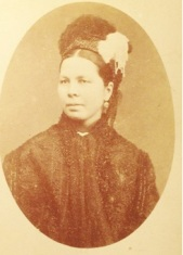 Another mystery figure in Lizzie's photo album is possible of the Journeaux sisters. photo courtesy of Corlette family