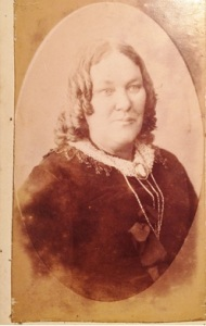 Unnamed female photographed by POLLARD of Courtenay Place, Wellington. N.Z. courtesy of Corlette family