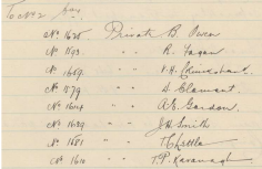 Appointment of Thomas Chettle to no company 14th Battalion A.I.F. source AWM, 14th War Diary
