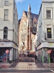 Picture of St Peters and St Paul's church 2015 taken by Bryan Corlett, g.grandson of Lizzie Journeaux