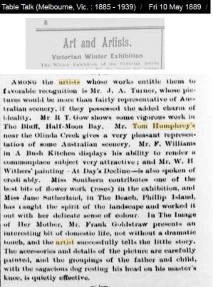 Tom Humphrey 1889 Olinda