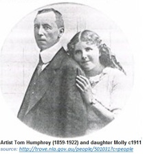 Tom Humphrey and daughter Mollyu