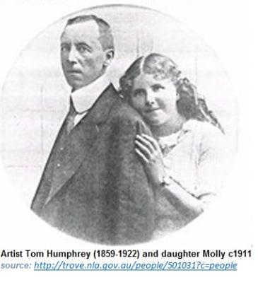 Tom Humphrey and daughter Mollyu