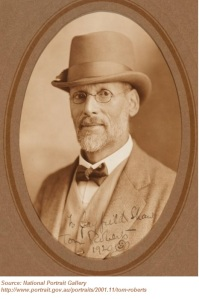 Photo of artist Tom Roberts, taken by photographer Alice Mills, the wife of artist Tom Humphrey. source: National Portrait Gallery http://www.portrait.gov.au/portraits/2001.11/tom-roberts