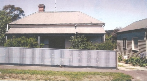 608 Ligar Street Ballarat where the Booley's lived before moving to Doveton Crescent