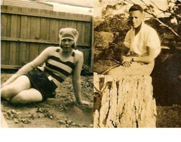 Jean Lovel Booley and Robert Williams c 1920s at Ballarat