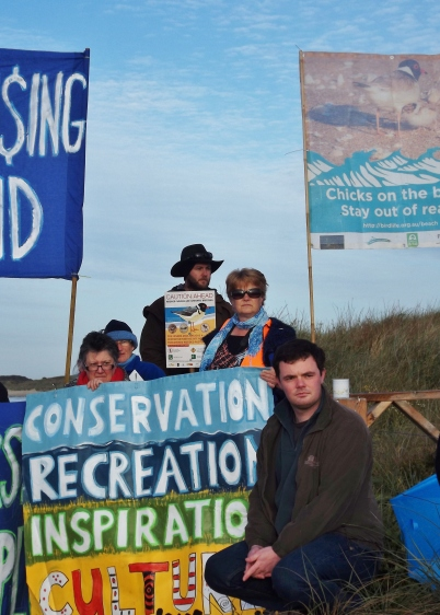 greens-candidate-thomas-campbell-joined-protestors-blockading-killarney-beach-from-racehorse-training-southwest-vic-picture-by-j-fawcett-28-oct-2016