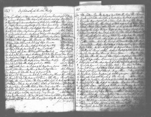 cert of baptism eliza jane journeaux 1847